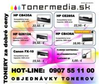 Tonery, catridge e-shop